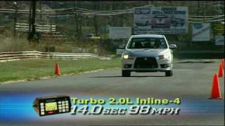MotorWeek Road Test: 2009 Mitsubishi Lancer Ralliart