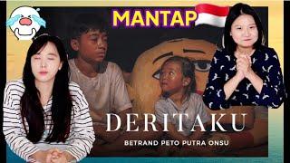 Download [REAKSI] BETRAND PETO PUTRA ONSU - DERITAKU (Official MV) / ORANG KOREA SEDIH LIHAT MV / MANTUL