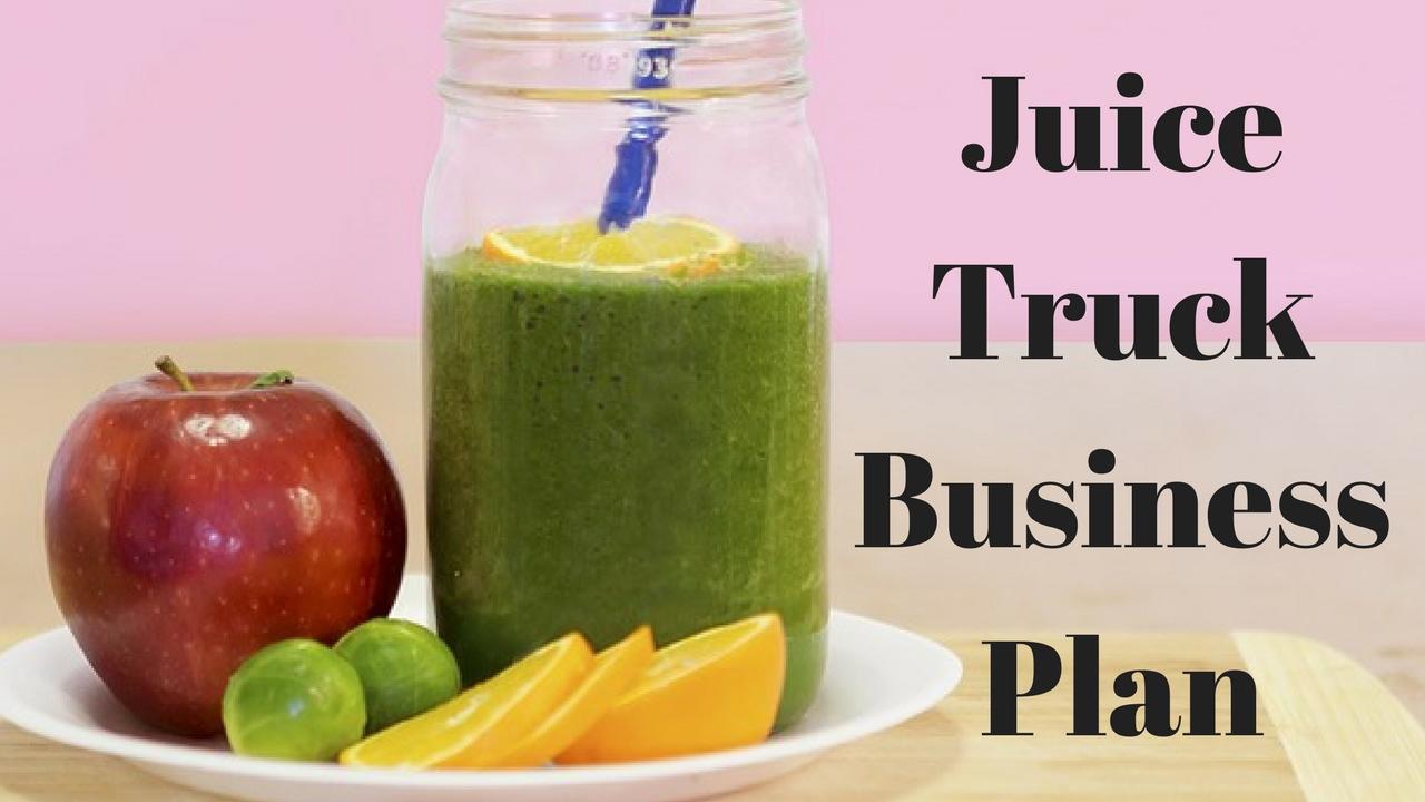 Business plan of a juice parlor