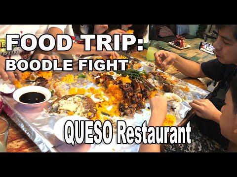Food Trip: Family Boodle Fight In Queso Sta. Cruz Laguna