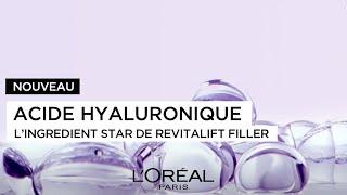 Découvrez l'acide hyaluronique de L'Oréal Paris.