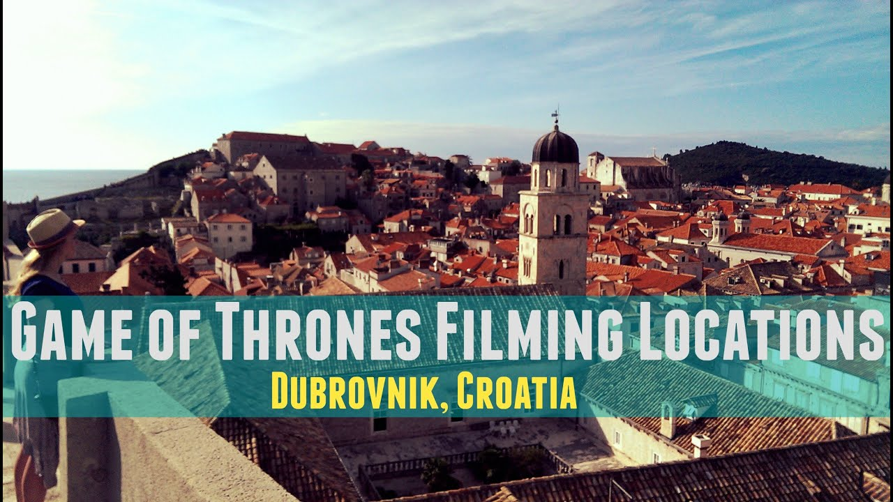 dubrovnik croatia game of thrones locations youtube. Black Bedroom Furniture Sets. Home Design Ideas