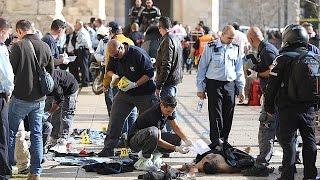 Two Palestinian attackers shot dead after Jerusalem stabbing spree