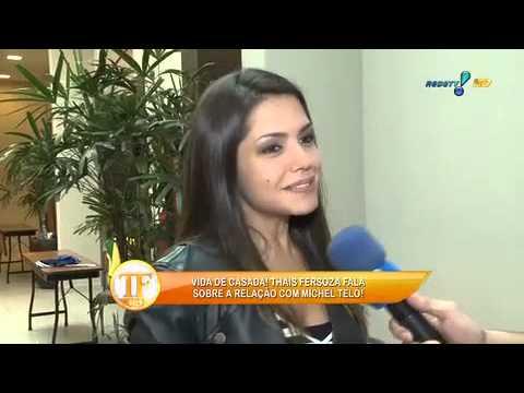 TV Fama 15/07/2014 - Thais Fersoza Diz Que Se Sente Casada Com Teló