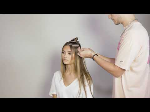 HOW TO APPLY CELEBRITY CHOICE STICK TIP HAIR EXTENSIONS