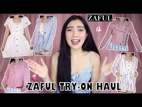 ZAFUL TRY-ON FASHION HAUL + TRENDY OUTFITS