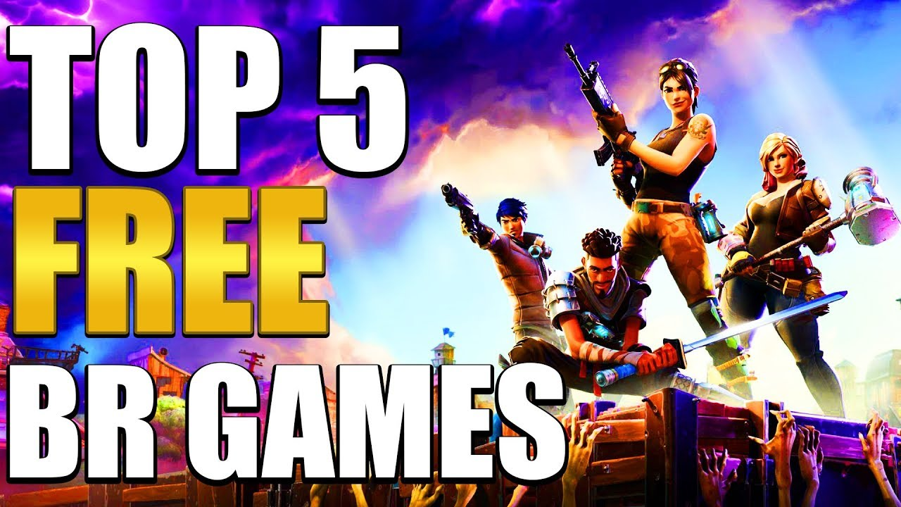 Top 5 Free Battle Royale Games Youtube