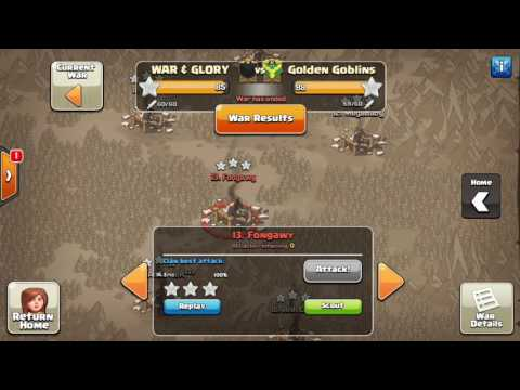 MCWL Championships! War & Glory vs. Golden Goblins!!!