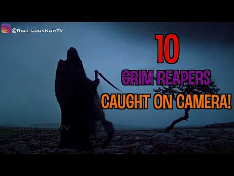 10 Grim Reapers Caught On Camera!