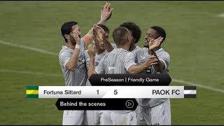 Η παρακάμερα του Fortuna Sittard-ΠΑΟΚ - PAOK TV