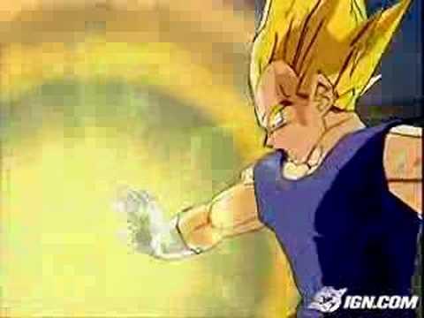 Dragon Ball Z Budokai 3 Super Vegetas Big Bang Attack Youtube