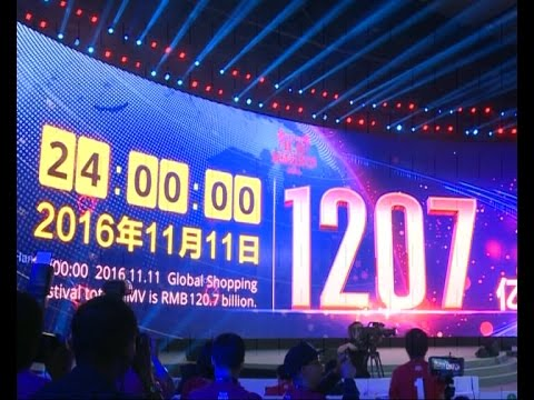$17.78 bln in 24 hours! China's Alibaba smashes record on Singles Day shopping event