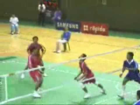 Volleyball Fuß