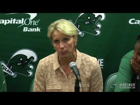 Tulane Post game vs South Alabama 11/5/17