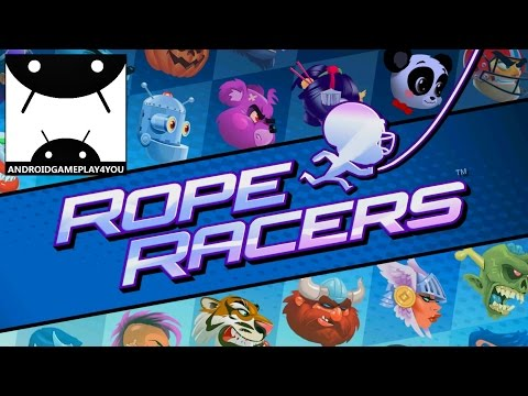 Rope Racers Android GamePlay Trailer (1080p) (By Small Giant Games) [Game For Kids]