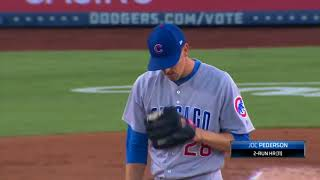 Chicago Cubs vs Los Angeles Dodgers Full Highlights Game - 6/27/18