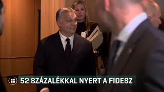 52 százalékkal nyert a Fidesz 19-05-27
