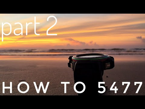 Casio 5477 Module - Quad Sensor G-Shock Gulfmaster watch sensors demo & calibration | PART 2