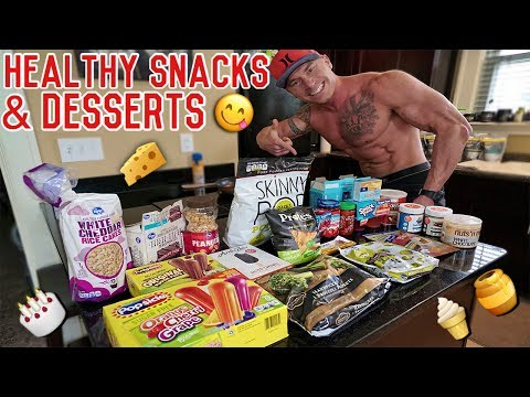 The Best Healthy Snacks & Desserts For Any Weight Loss Diet | Cutting Diet Essentials