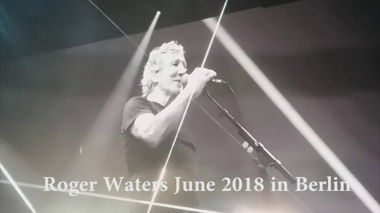 Roger Waters In Berlin 2018 Promoting The Bds Movement Youtube