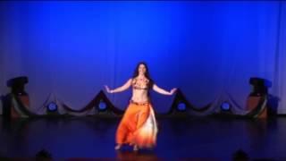 Maya Szekely - raks sharqi, drum solo and modern bellydance