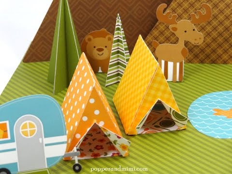 How to Make an Origami Tent!! & How to Make an Origami Tent!! - YouTube