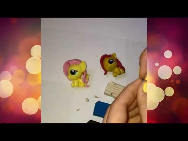 Как Слепить Из Пластилина Пони