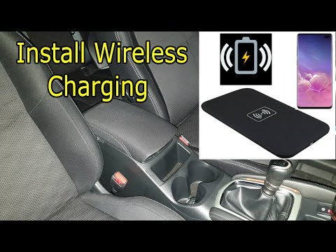 DIY How to Install Wireless Charging in the Nissan Qashqai With $5 + USB