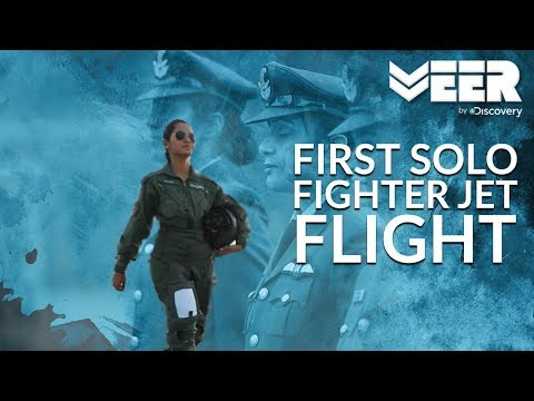 Women Fighter Pilots E1p5  First Solo Flight In Fighter Aircraft  Veer By Discovery
