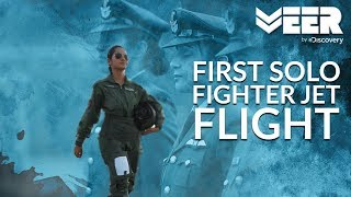 Women Fighter Pilots E1P5 | First Solo Flight in Fighter Aircraft | Veer by Discovery