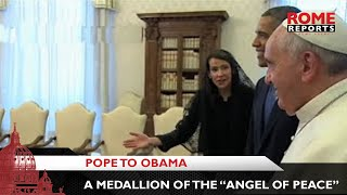 Pope to Obama: This gift isn