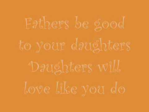 John Mayer - Daughters (lyrics)