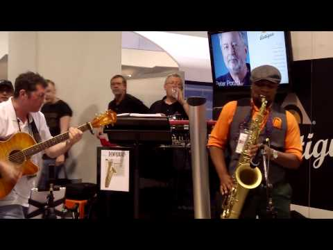 Change The World - Marcus Anderson @ Antigua Winds NAMM 2014 (Smooth Jazz Family)