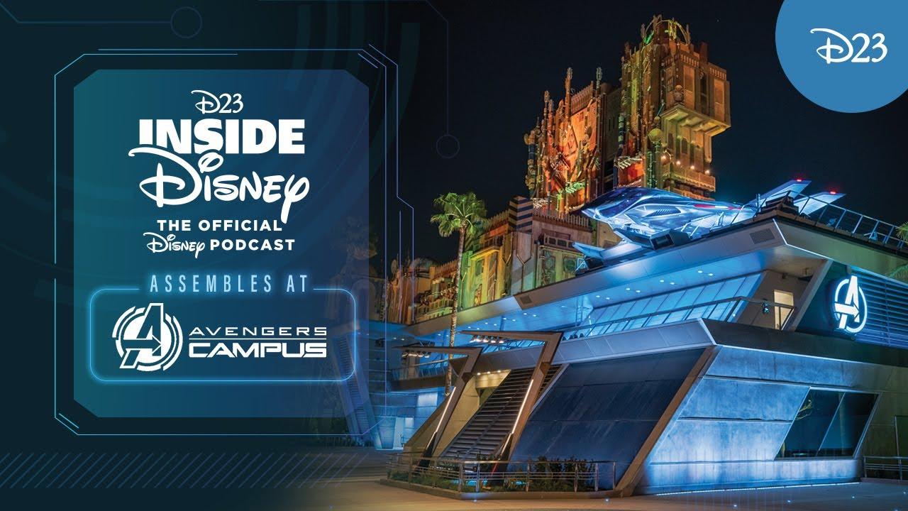 Download D23 Inside Disney Assembles at Avengers Campus!