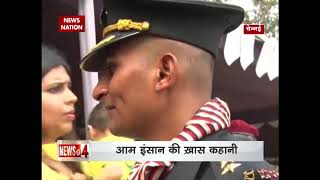 From cab driver to Indian army officer, Om Paithane is a true inspiration