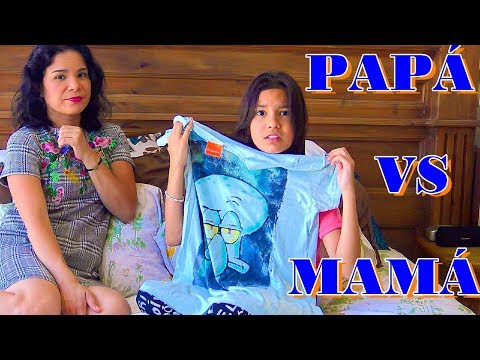 PAPA VS MAMA ¿Quien es mas Divertido?| TV ANA EMILIA