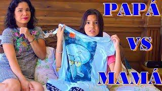 PAPA VS MAMA ¿Quien es mas Divertido?| TV ANA EMILIA