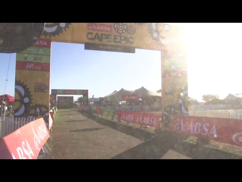 2018 Absa Cape Epic LIVE | STAGE 1 | Finish Line