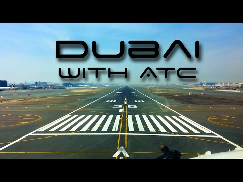 Dubai Landing with ATC