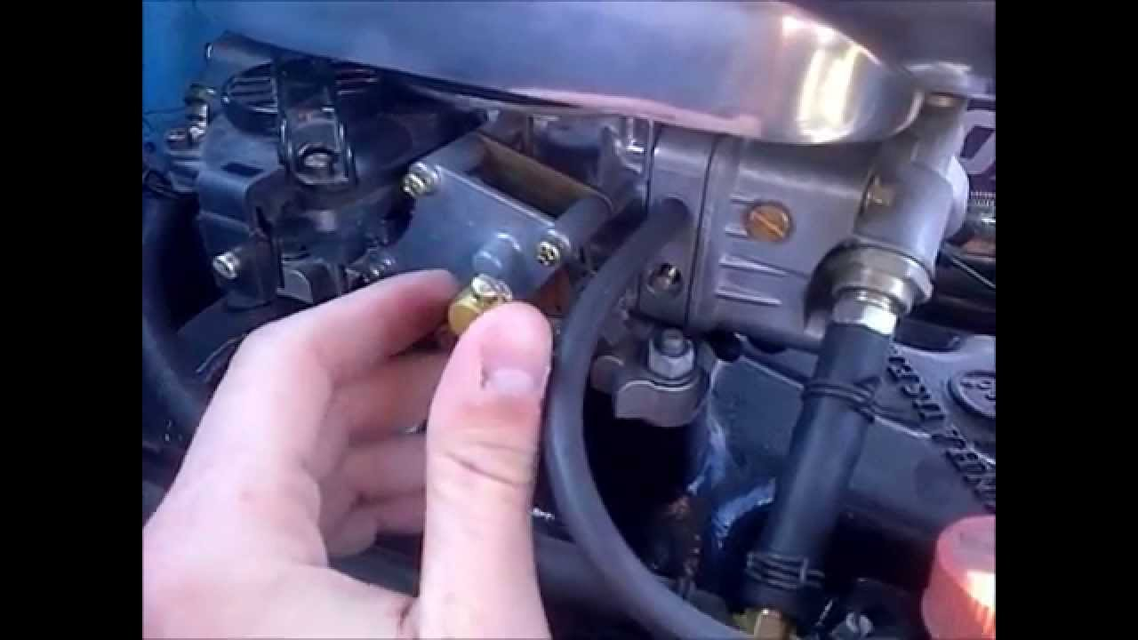 hight resolution of holley carb choke explanation adjustment