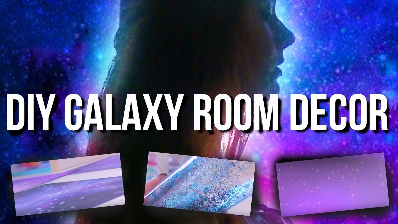 DIY Galaxy Room Decor  Collab With Eva Mazu  YouTube