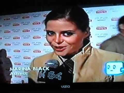 G4: Celebrities Marina Black