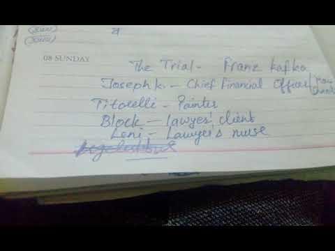The Trial | Franz Kafka's Complete Novel Audio in Hindi | 7 Mins