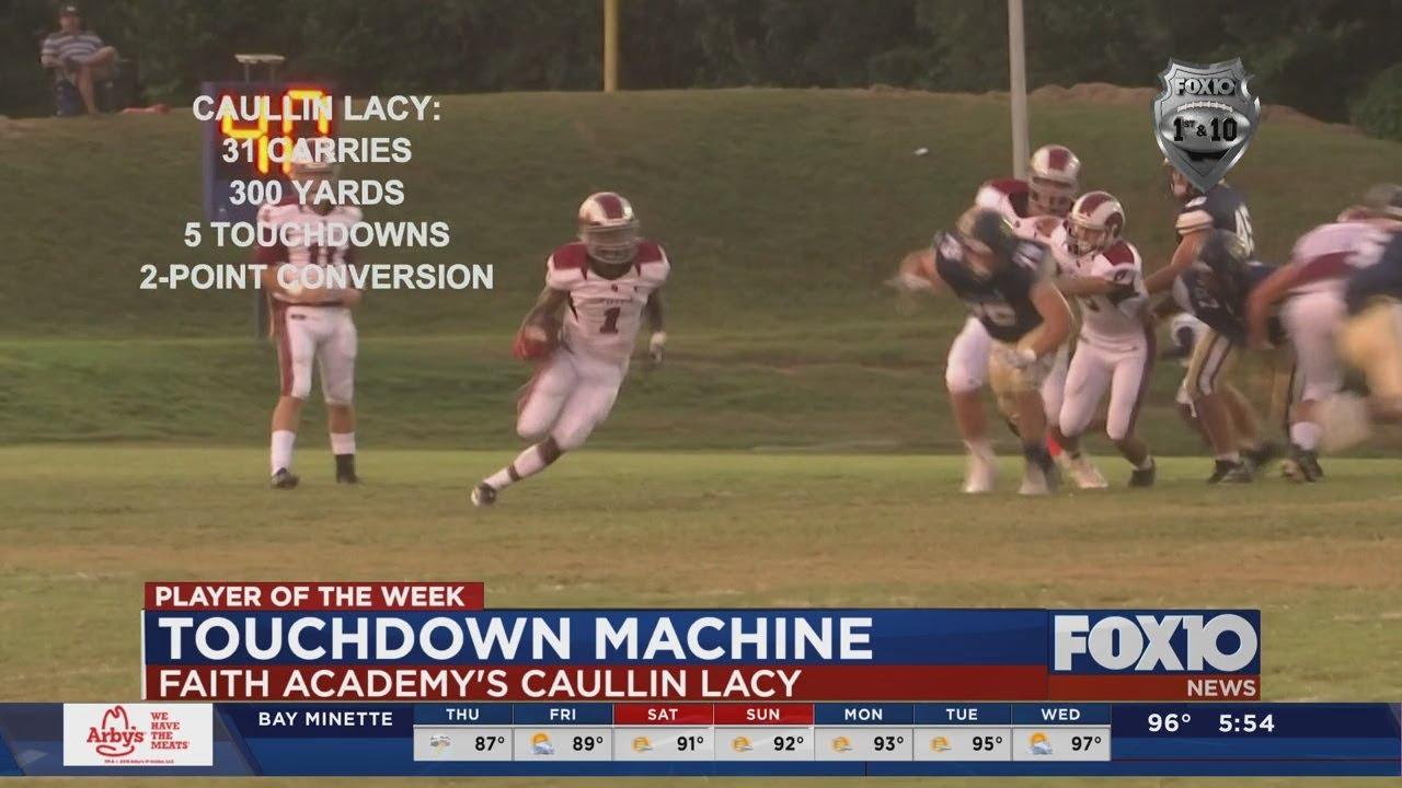 Player of the Week 3: Caullin Lacy: Faith Academy