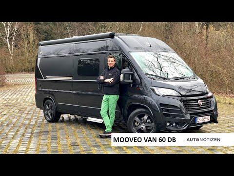 Mooveo Van 60DB 2020: Camping-Bus (Kastenwagen) im Review