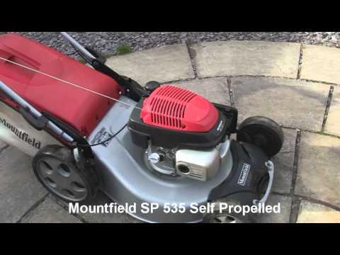 Mountfield Honda SP 535 Petrol Lawnmower Test Review