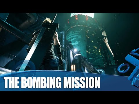 Final Fantasy VII Remake Gameplay - Playable Demo Bombing Mission Full Walkthrough