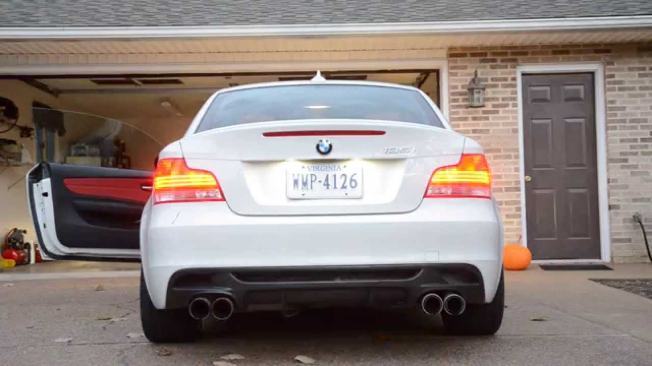 Coupe Series bmw 135i exhaust 2010 135i Remus Quad & Maddad Mids - YouTube