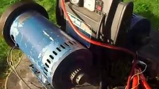Treadmill motor -ideal home build wind, water or engine power generator