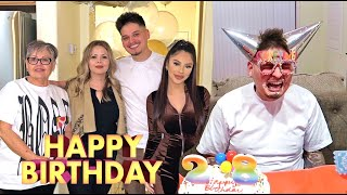 ALONDRA & FAMILY SURPRISE ME ON MY BIRTHDAY!! *Hilarious*